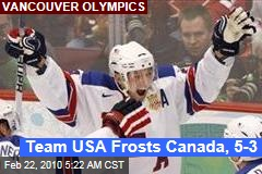 Team USA Frosts Canada, 5-3