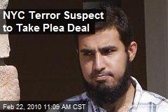 NYC Terror Suspect to Take Plea Deal