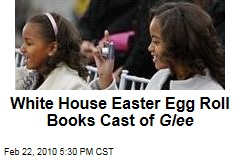 White House Easter Egg Roll Books Cast of Glee