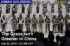 The Grass Isn't Greener in China