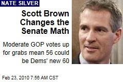 Scott Brown Changes the Senate Math
