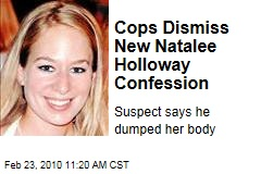 Cops Dismiss New Natalee Holloway Confession