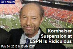 Kornheiser Suspension at ESPN Is Ridiculous
