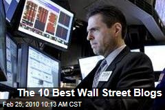 The 10 Best Wall Street Blogs