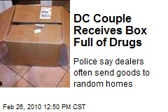 DC Couple Receives Box Full of Drugs