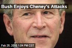 Bush Enjoys Cheney's Attacks