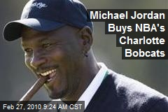 Michael Jordan Buys NBA's Charlotte Bobcats