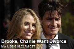 Brooke, Charlie Want Divorce