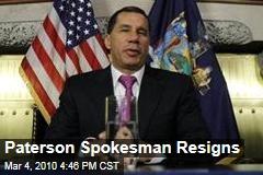 Paterson Spokesman Resigns