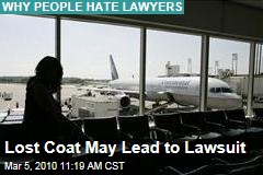 Lost Coat May Lead to Lawsuit
