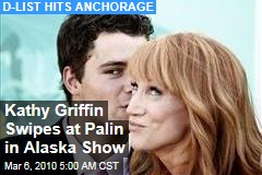 Kathy Griffin Swipes at Palin in Alaska Show