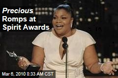 Precious Romps at Spirit Awards