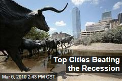 Top Cities Beating the Recession