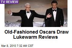 Old-Fashioned Oscars Draw Lukewarm Reviews