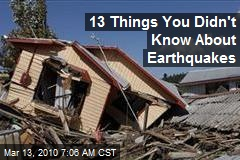 13 Things You Didn't Know About Earthquakes