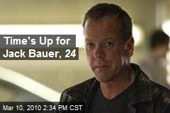 Time's Up for Jack Bauer, 24