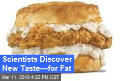 Scientists Discover New Taste—for Fat