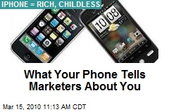 What Your Phone Tells Marketers About You