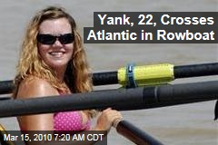Yank, 22, Crosses Atlantic in Rowboat