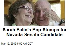 Sarah Palin's Pop Stumps for Nevada Senate Candidate