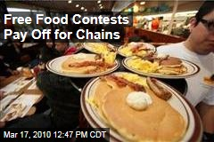 Free Food Contests Pay Off for Chains