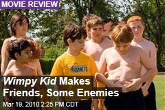 Wimpy Kid Makes Friends, Some Enemies
