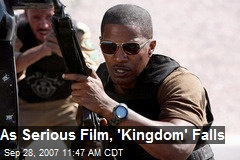 As Serious Film, 'Kingdom' Falls