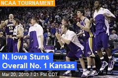 N. Iowa Stuns Overall No. 1 Kansas