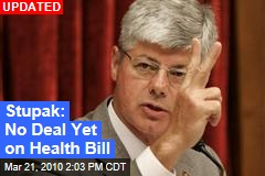 Stupak: No Deal Yet on Health Bill