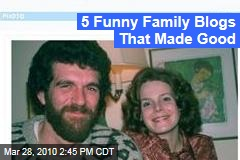 5 Funny Family Blogs That Made Good
