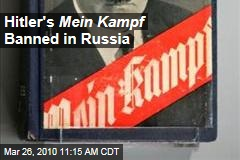 Hitler's Mein Kampf Banned in Russia