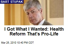 I Got What I Wanted: Health Reform That's Pro-Life