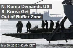 N. Korea Demands US, S. Korea Get Out of Buffer Zone