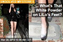What's That White Powder on LiLo's Feet?