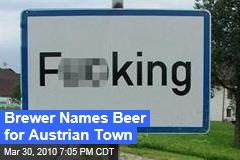 Brewer Names Beer for Austrian Town