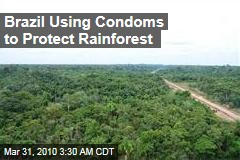 Brazil Using Condoms to Protect Rainforest