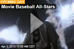 Movie Baseball All-Stars