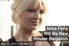 Anna Faris Will Be New Private Benjamin