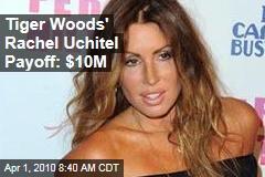 Tiger Woods' Rachel Uchitel Payoff: $10M