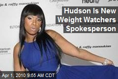 Hudson Is New Weight Watchers Spokesperson
