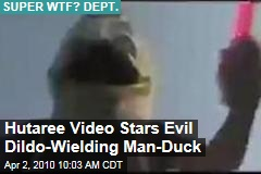 Hutaree Video Stars Evil Dildo-Wielding Man-Duck