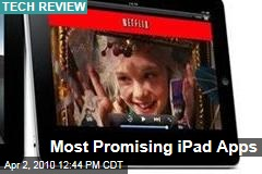 Most Promising iPad Apps