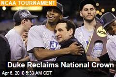 Duke Reclaims National Crown