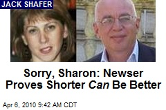 Sorry, Sharon: Newser Proves Shorter Can Be Better