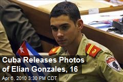 Cuba Releases Photos of Elian Gonzales, 16