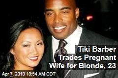 Tiki Barber Trades Pregnant Wife for Blonde, 23