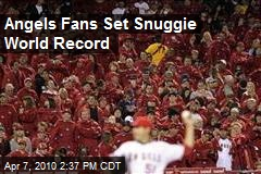 Angels Fans Set Snuggie World Record