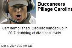 Buccaneers Pillage Carolina