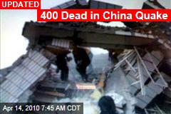400 Dead in China Quake