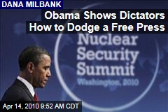 Obama Shows Dictators How to Dodge a Free Press